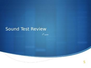 5th Grade Sound Oral Review