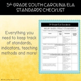 5th Grade South Carolina ELA Standards Checklist