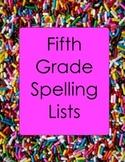 5th Grade Spelling Lists and Practice Worksheets Plurals Homophones SALE