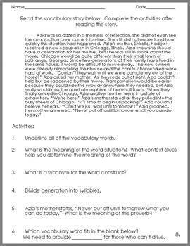 5th Grade Spelling and Vocabulary Complete Program 3rd Quarter