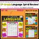 5th Grade Language Spiral Review | 2 Weeks FREE