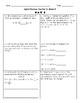 5th Grade Spiral Review Quarter 2, Week 3