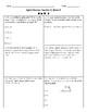 5th Grade Spiral Review, Quarter 3 Week 3