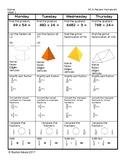 5th Grade Standardized Test Review-Spiral Homework (5 week