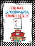 5th Grade Standards Checklist