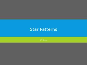 5th Grade Star Patterns/Constellations PowerPoint