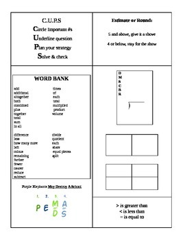 photograph about 5th Grade Math Test Printable identified as 5th Quality Region Math Examine Pre-Authorized Reference Sheet