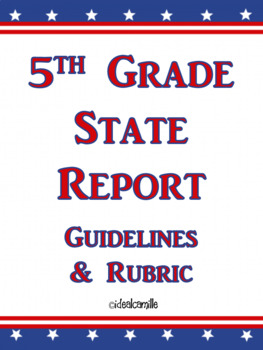 5th Grade State Report
