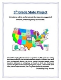 5th Grade State Project