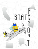 5th Grade State Report Travel Brochure