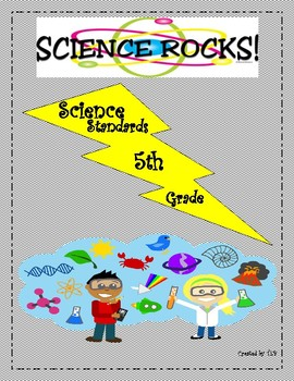 5th Grade State Science Standards Cheat Sheet (GSE)