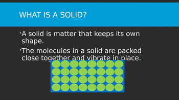 5th Grade States of Matter PowerPoint