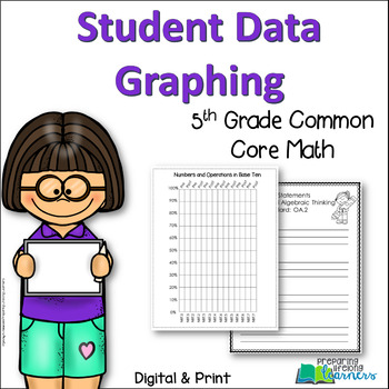 5th Grade Student Data Graphing {Aligned with Common Core Math}