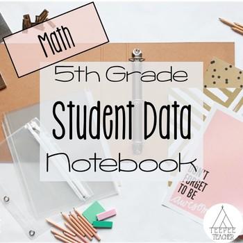 5th Grade Student Data Notebook (Math)