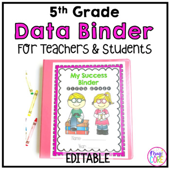 5th Grade Data Binder-Common Core Aligned