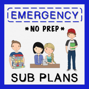 5th Grade Emergency Sub Plans