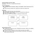 5th Grade Summarizing Literary Texts 1 Page Notes
