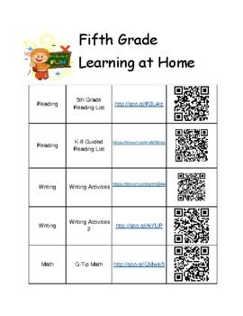 5th Grade Summer Learning Activities