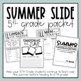 5th Grade Summer Slide Packet