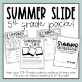5th Grade Summer Slide Packet