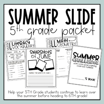 Summer Workbooks | Teachers Pay Teachers
