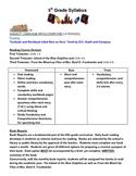5th Grade Syllabus
