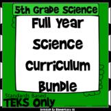 5th Grade TEKS Complete Lesson Sets Full Year Bundle