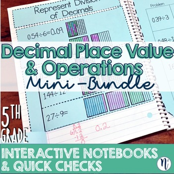 5th Grade TEKS Decimal Place Value and Operations Interact