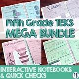 5th Grade TEKS Interactive Notebook Activities & Quick Che