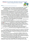 5th TN Standards 5.42-5.60 World War I, Roaring 20's, World War II