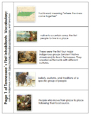 5th Grade TN Social Studies Standards 5.26-5.28 Vocabulary Tabs