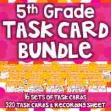 5th Grade Task Card Bundle