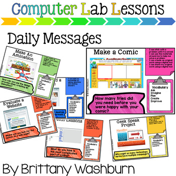 5th Grade Technology Curriculum Add on Pack