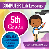 5th Grade Technology Lesson Plans and Activities 1 Year Subscription