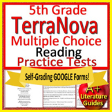 5th Grade TerraNova Test Prep - Reading ELA Practice Tests Bundle Terra Nova
