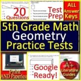 5th Grade Math Unit 5: Geometry - Standardized Test Prep - Google Ready