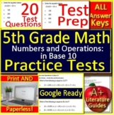 5th Grade Math Unit 2: Numbers and Operations in Base 10 Standardized Test Prep