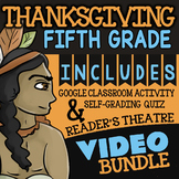 5th Grade Thanksgiving Activities ★ 5th Grade Thanksgiving Math Activity Bundle