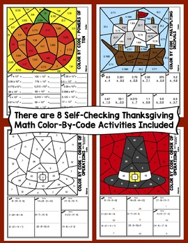 5th Grade Thanksgiving One Page Wonders Activities Bundle
