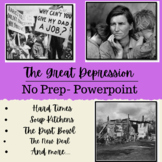 The Great Depression & The New Deal - Powerpoint