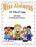 "5th Grade Treasures Reading Unit 1 Week 1 ""Miss Alaineus"""
