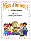 "5th Grade Treasures Reading Unit 1 Week 1 ""Miss Alaineus"""