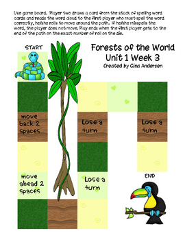 """5th Grade Treasures Reading Unit 1 Week 3 """"Forests of the World"""""""