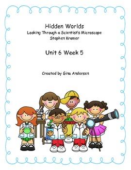 "5th Grade Treasures Reading Unit 6 Week 5 ""Hidden Worlds"""