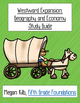 5th Grade U.S. History from 1865 study guides--entire year!