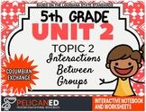 5th Grade - Unit 2 Topic 2 – Part B – Columbian Exchange
