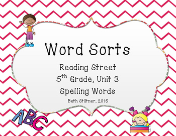 5th Grade Unit 3 Reading Street