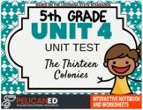 5th Grade - Unit 4 Unit Test