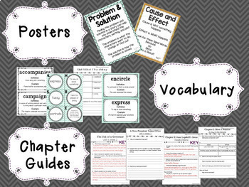 5th Grade Unit 4 Reading Supplement for WonderWorks- BUNDLE!!!