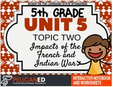 5th Grade - Unit 5 Topic 1 - Impacts of the French and Indian War